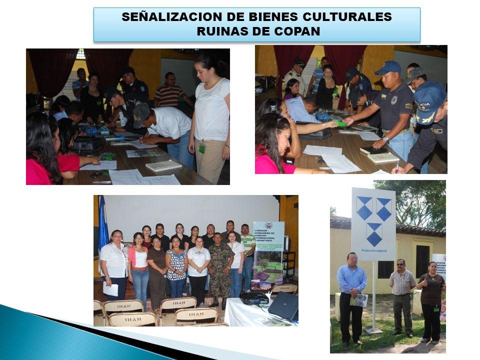 SEÑALIZACION DE BIENES CULTURALES RUINAS DE COPAN SEÑALIZACION DE BIENES CULTURALES RUINAS DE COPAN