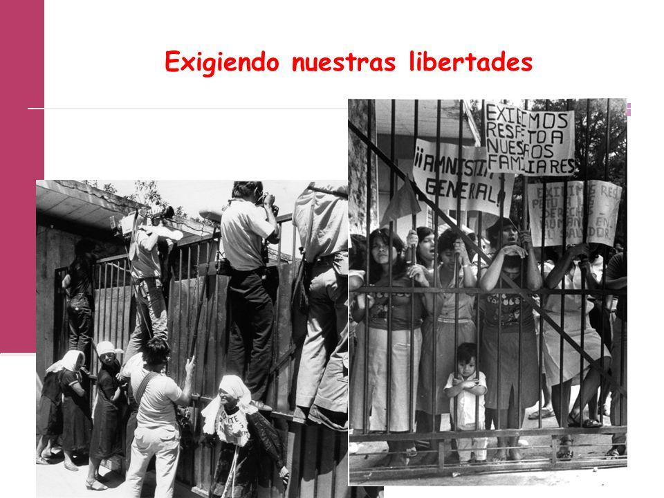 Exigiendo nuestras libertades