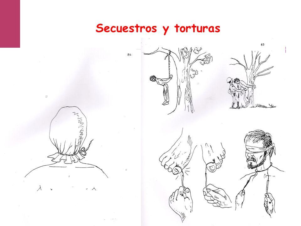 Secuestros y torturas