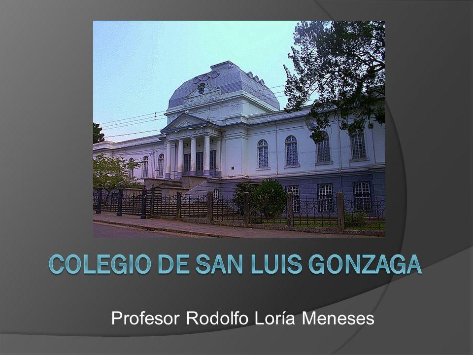 Profesor Rodolfo Loría Meneses