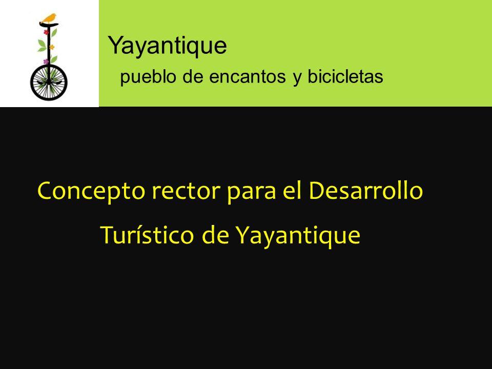 Yayantique pueblo de encantos y bicicletas Concepto rector para el Desarrollo Turístico de Yayantique