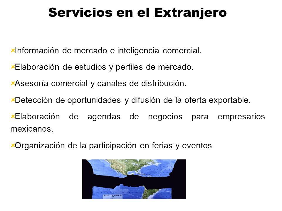Consejerías y Módulos Comerciales Detroit Chicago Seattle Atlanta Dallas San Antonio Los Angeles El Salvador Guatemala Costa Rica Colombia Ecuador Cub