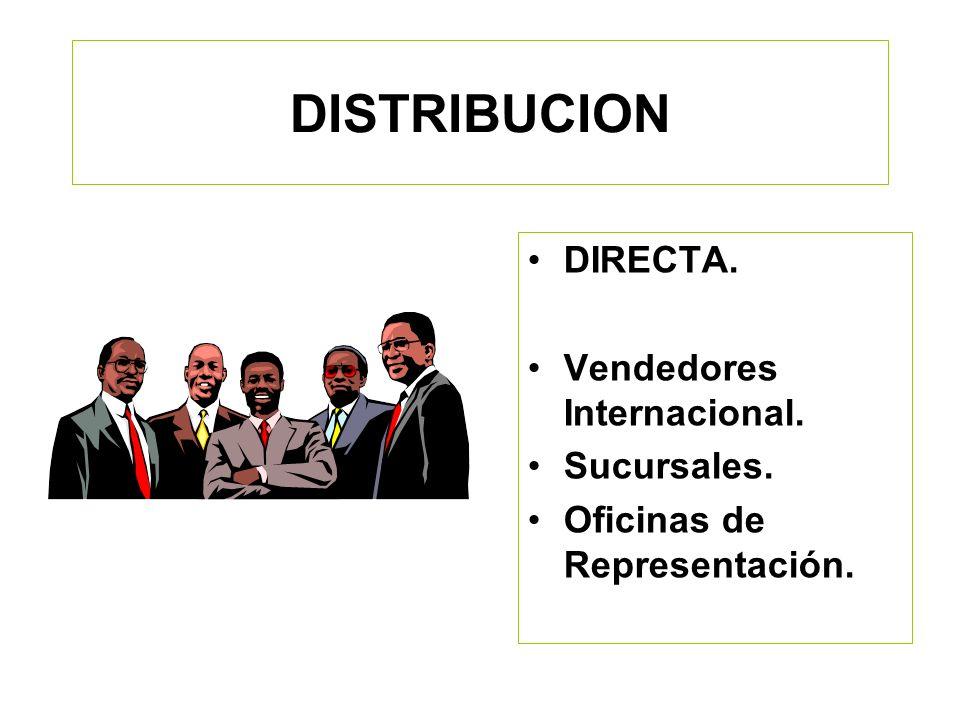 OBJETIVO: Identificar las formas de Distribución más utilizadas en el ámbito comercial internacional así como las ventajas competitivas entre unas y o
