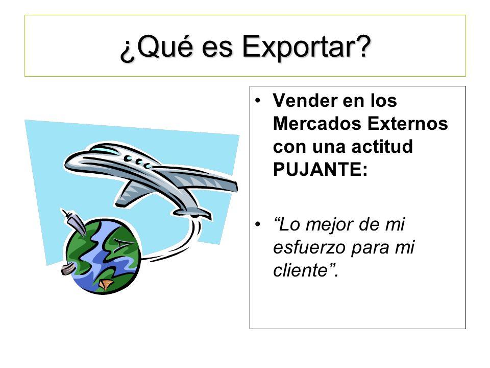 LA EXPORTACION COMO RESPUESTA ESTRATEGICA DE LAS ORGANIZACIONES ACTUALES