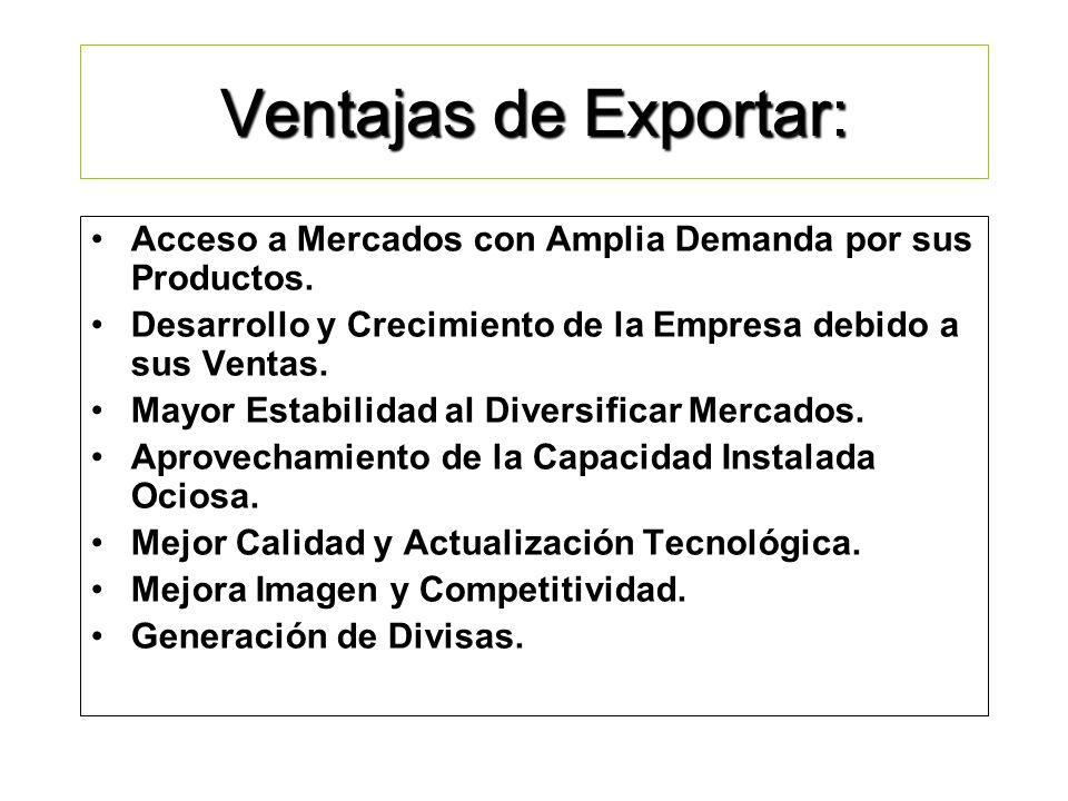 ¿Qué es Exportar? Vender en los Mercados Externos con una actitud PUJANTE: Lo mejor de mi esfuerzo para mi cliente.