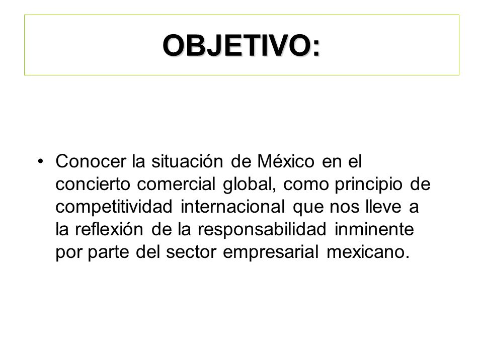 Servicios en el Extranjero Información de mercado e inteligencia comercial.