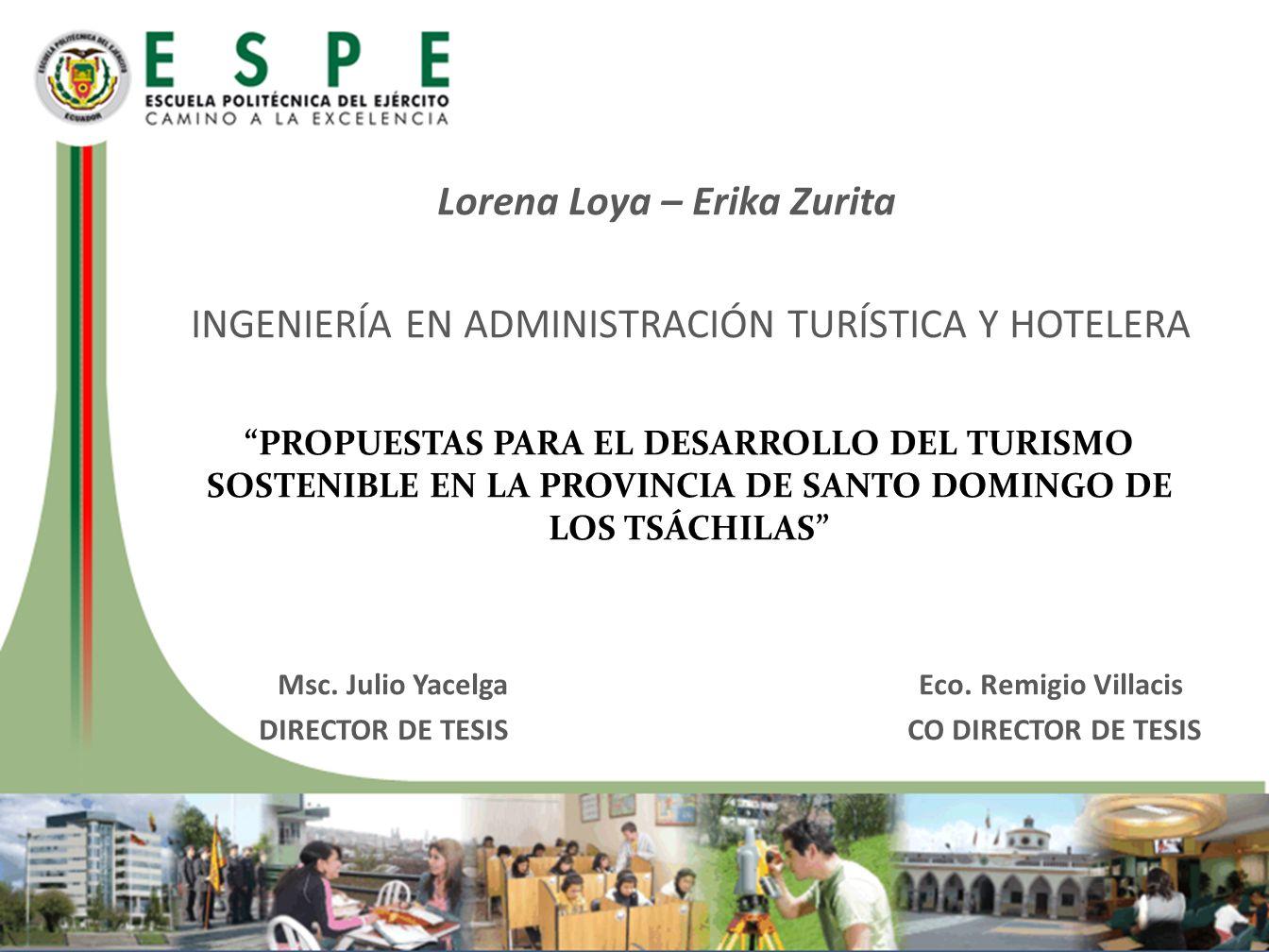 Promover el desarrollo turístico del turismo sostenible en la provincia de Santo Domingo de los Tsáchilas por medio de propuestas orientadas a los problemas más importantes identificados.