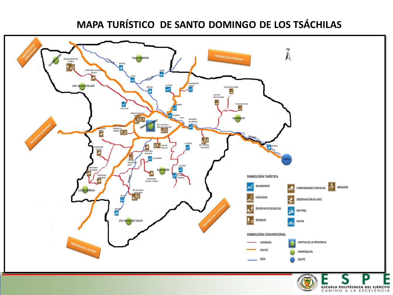 RUTAS TURÍSTICAS AGROTURISMO RUTA VERDE RUTA TROPICAL COMPARTIENDO CON LA NATURALEZA ETNOTURISMO AVENTURA TSÁCHILAS RUTA COLORADA RUTA VERDADERA GENTE 4.