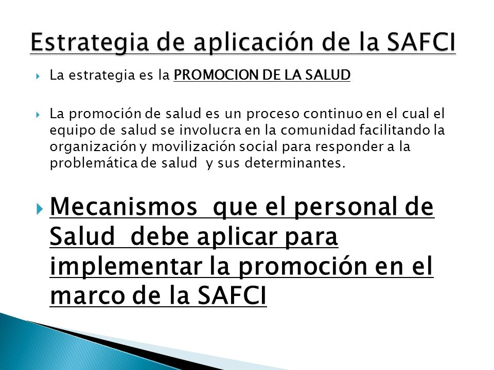 SAFCI Participación Comunitaria Integralidad Interculturalidad Gestión Intersectorialidad Atención InstitucionalEMSAFCIRMSAFCI Promoción de la Salud
