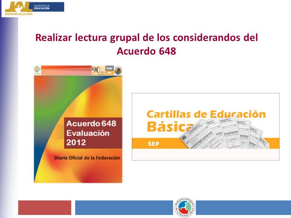 Examen General de acreditación de grado o nivel educativo.