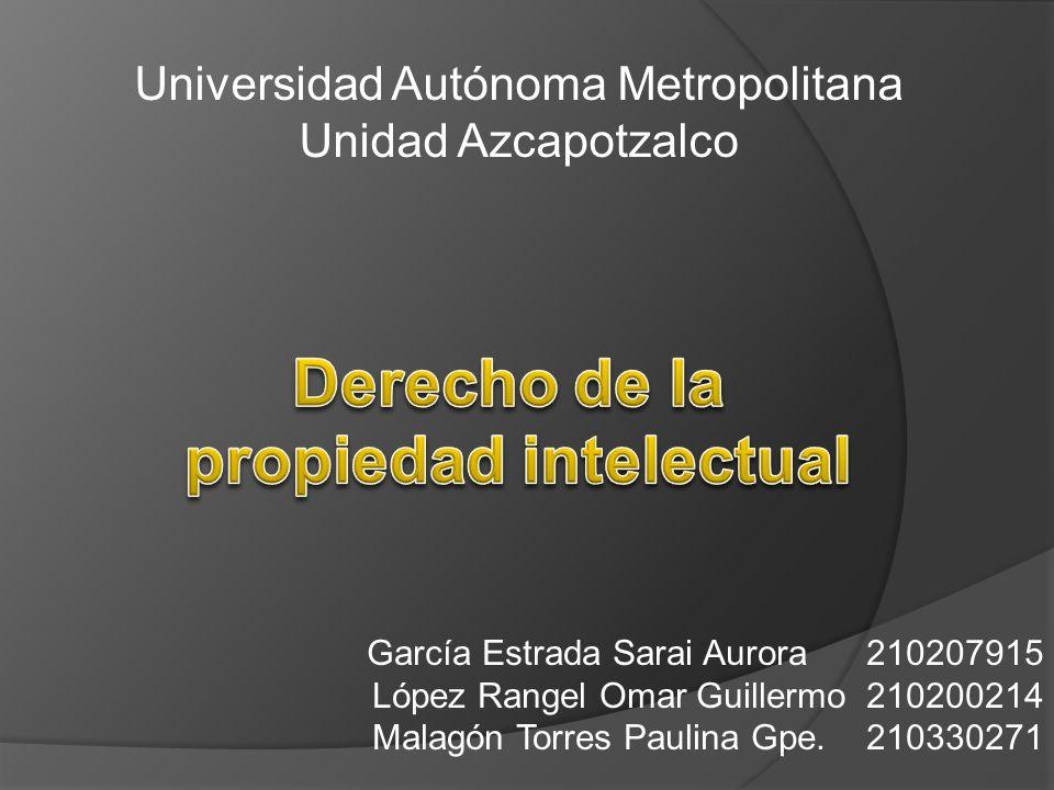 García Estrada Sarai Aurora 210207915 López Rangel Omar Guillermo 210200214 Malagón Torres Paulina Gpe. 210330271 Universidad Autónoma Metropolitana U