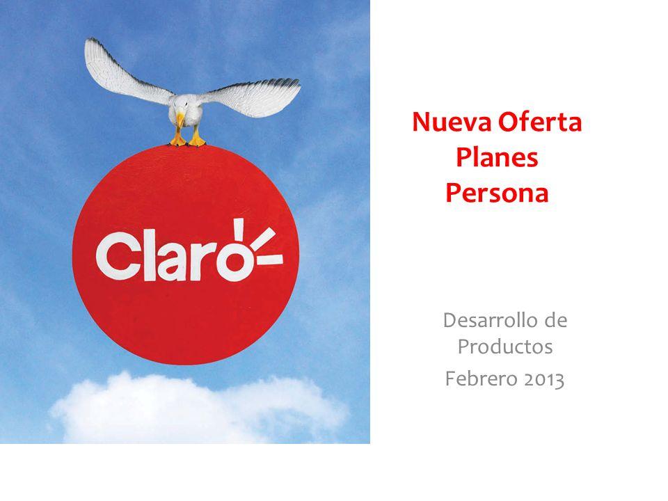 Nueva Oferta Planes Persona Desarrollo de Productos Febrero 2013