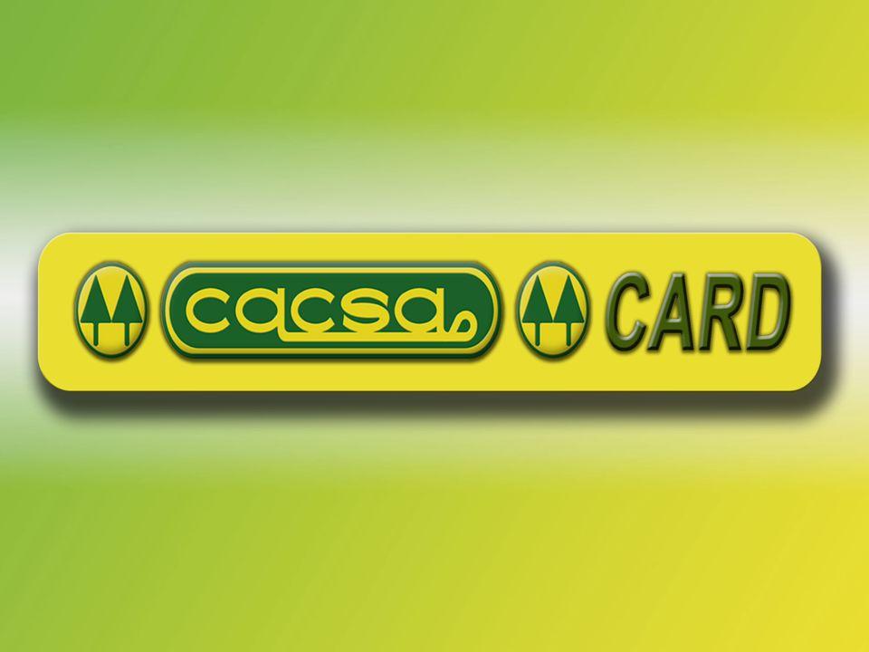 CACSA CARD Si mantiene sus pagos de préstamo: CREDICACSA ESTUDIANTIL, y abona un mínimo de 5 dólares, le damos 1 Sticker. Llena la libreta Cacsa Card