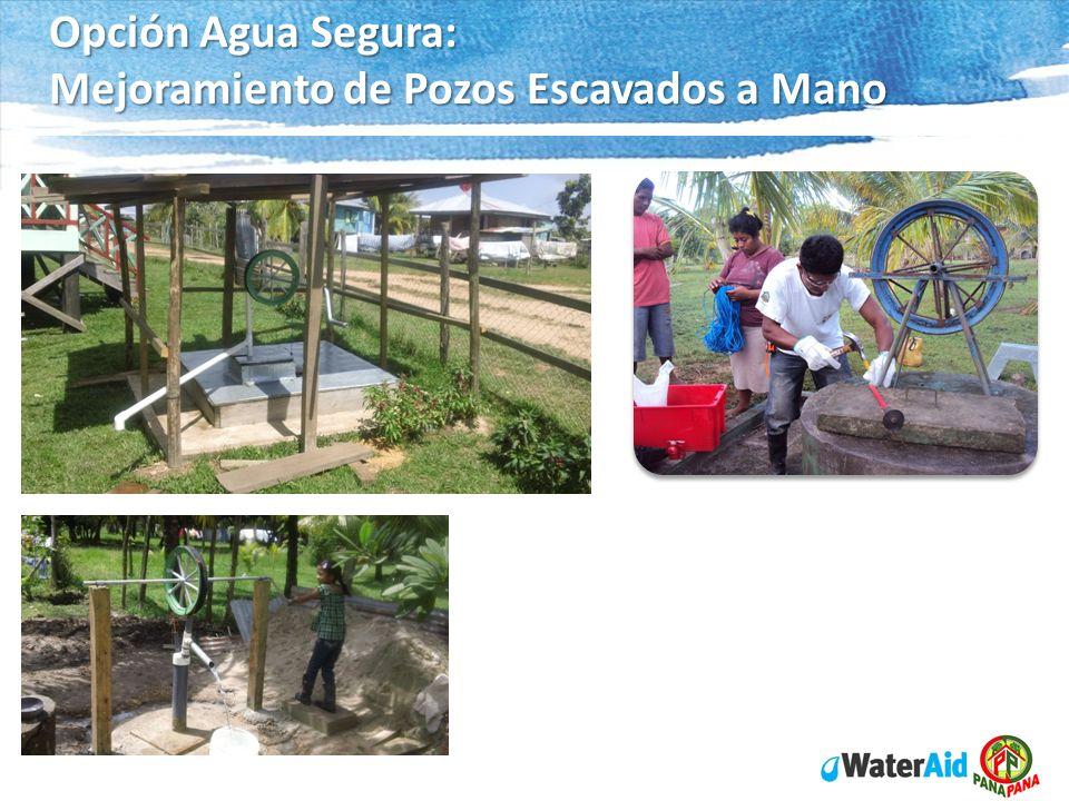 Opción Agua Segura: Mejoramiento de Pozos Escavados a Mano