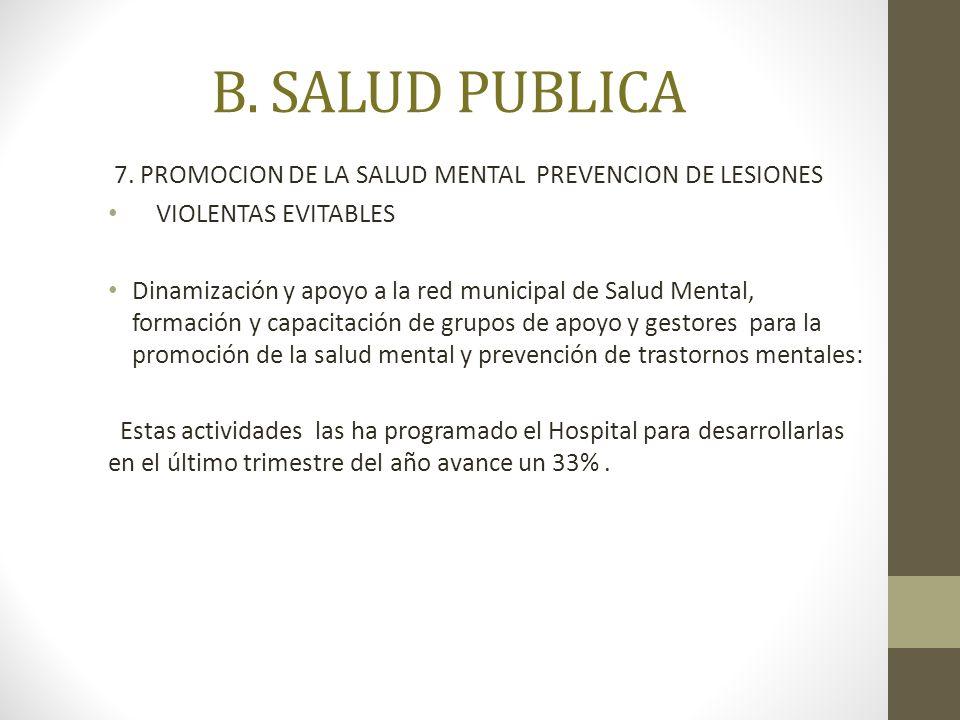 B.SALUD PUBLICA 7.