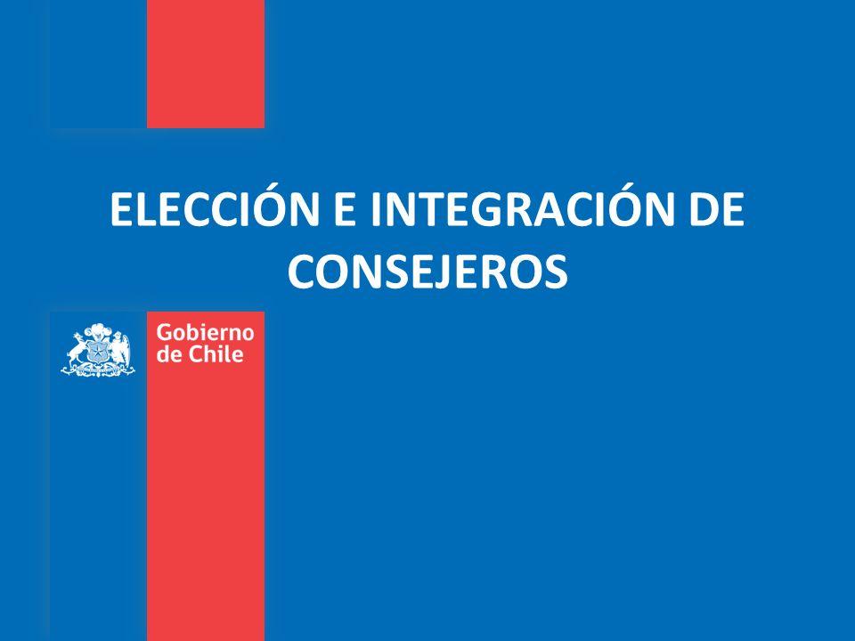 ELECCIÓN E INTEGRACIÓN DE CONSEJEROS