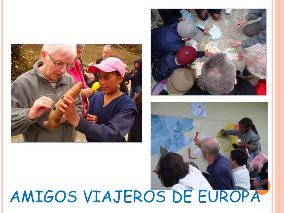 AMIGOS VIAJEROS DE EUROPA