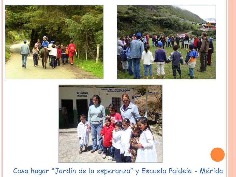 Casa hogar Jardín de la esperanza y Escuela Paideia - Mérida