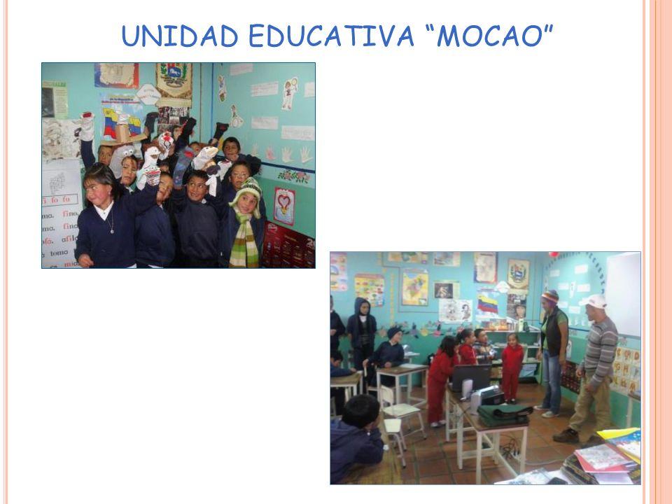 UNIDAD EDUCATIVA MOCAO