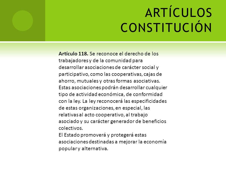 ARTÍCULOS CONSTITUCIÓN Artículo 70. Son medios de participación y protagonismo del pueblo en ejercicio de su soberanía, en lo político: la elección de