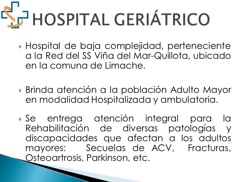 Hospital de baja complejidad, perteneciente a la Red del SS Viña del Mar-Quillota, ubicado en la comuna de Limache. Brinda atención a la población Adu