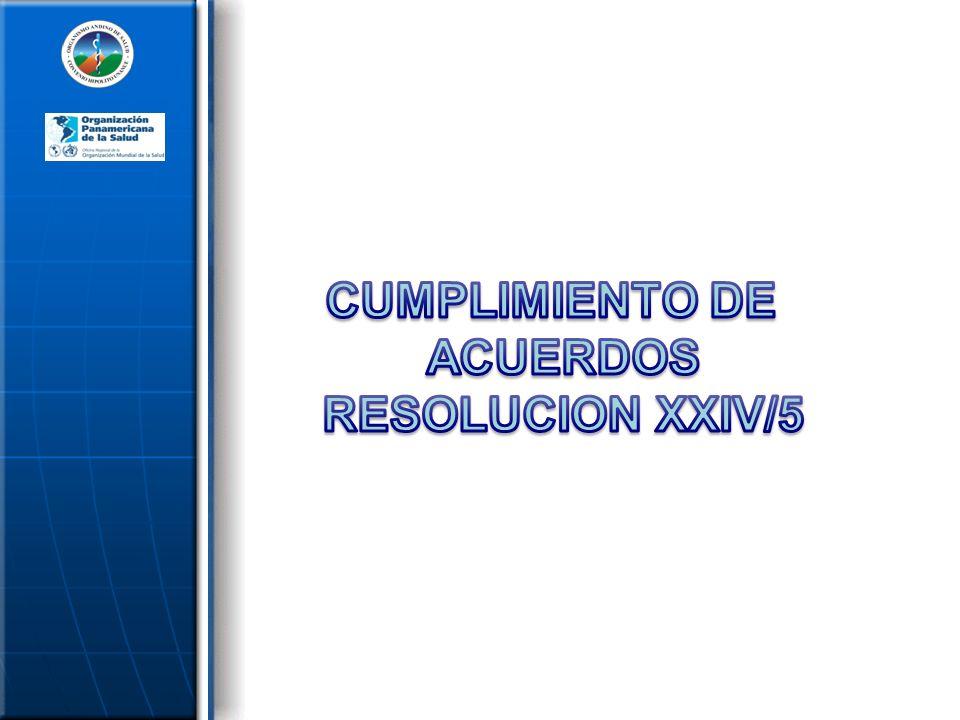 5.Recopilación y diagnóstico situacional de las regulaciones sanitarias y de la industria de alimentos procesados en la región.