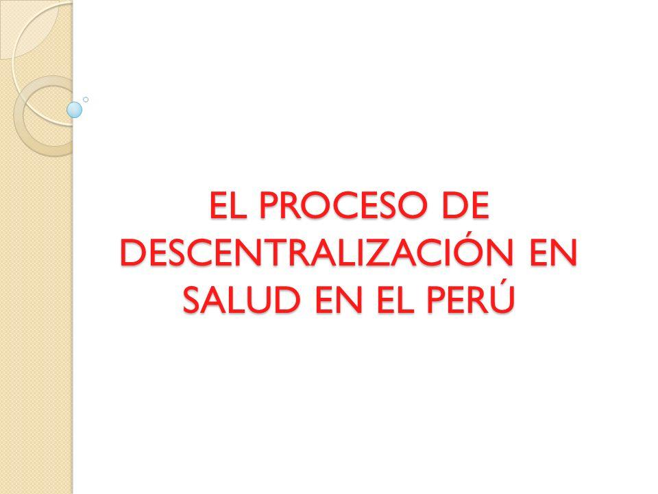 TAREAS PENDIENTES EN LA DESCENTRALIZACIÓN A GOBIERNOS REGIONALES Desarrollo de capacidades para el ejercicio de las nuevas funciones.