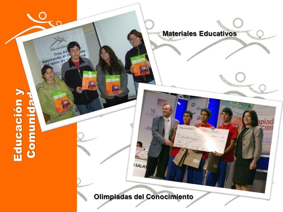 Materiales Educativos Olimpiadas del Conocimiento Educación y Comunidad