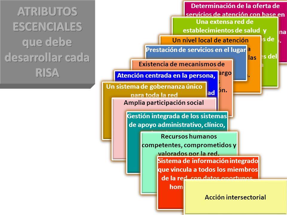 Determinación de la oferta de servicios de atención con base en el conocimiento de las necesidades y preferencias de una población y territorio defini