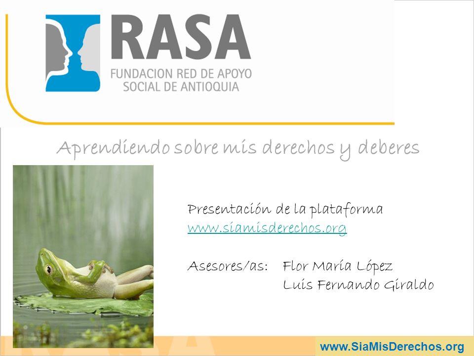 www.SiaMisDerechos.org a.