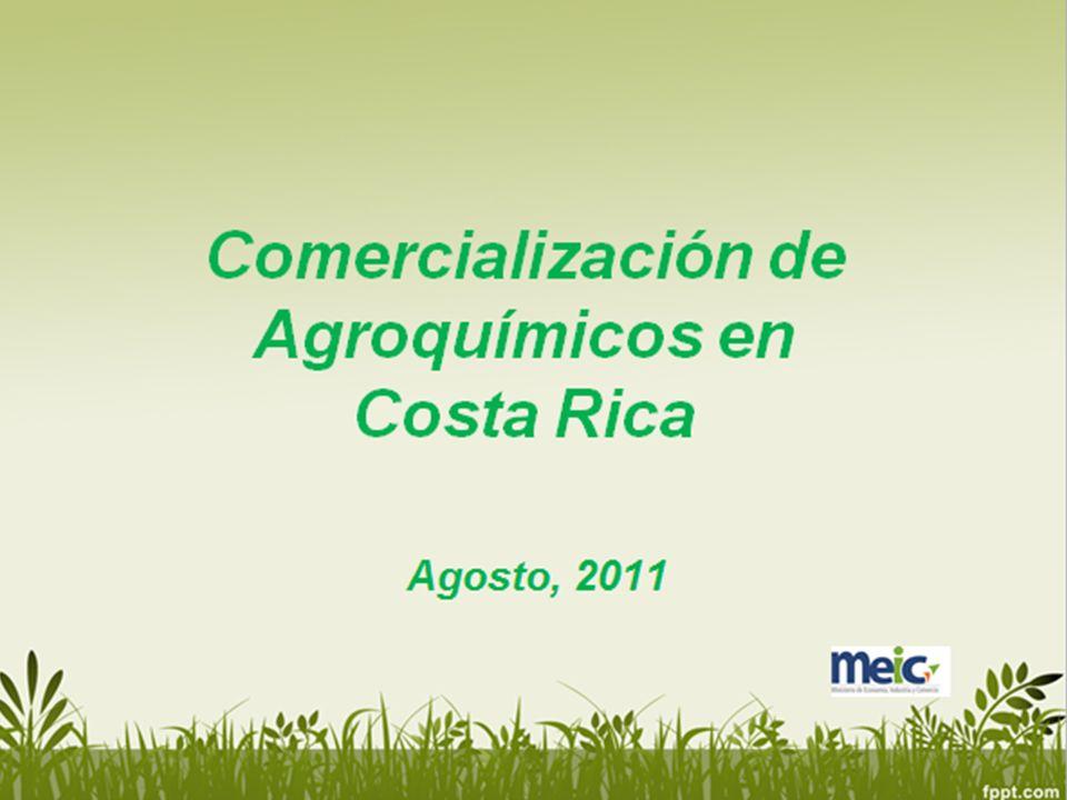 Objetivo Analizar el mercado de agroquímicos en Costa Rica con el propósito de identificar factores que pueden obstaculizar la libre competencia de mercado y limitan la competitividad del sector agrícola.