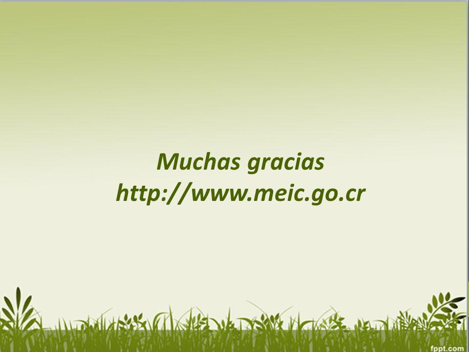 Muchas gracias http://www.meic.go.cr