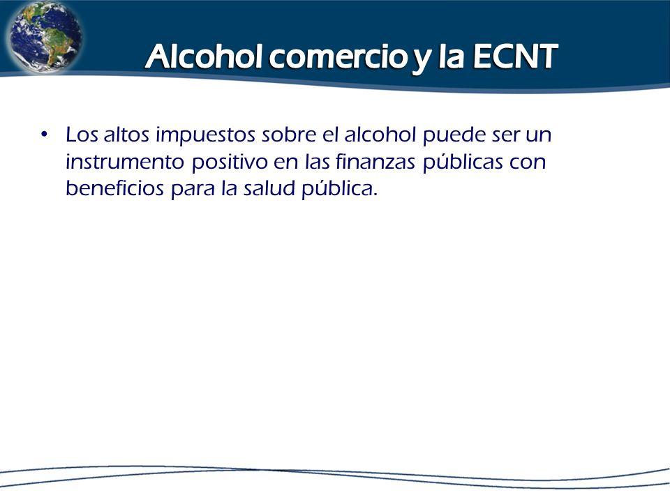 Los altos impuestos sobre el alcohol puede ser un instrumento positivo en las finanzas públicas con beneficios para la salud pública.