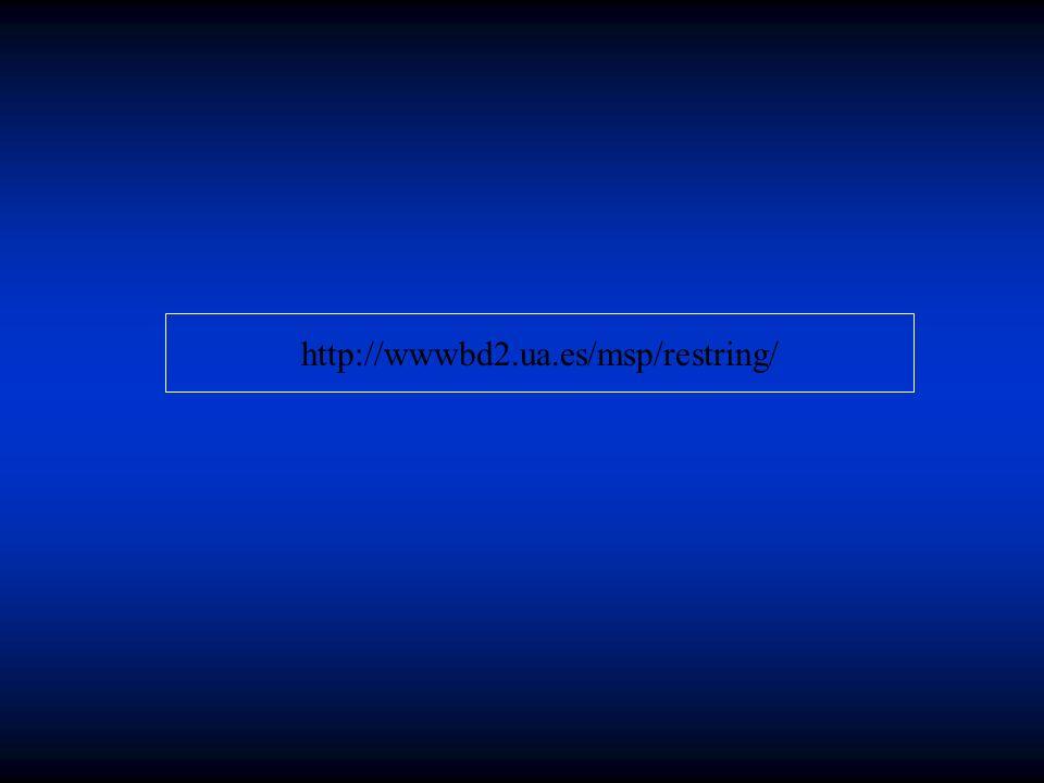 http://wwwbd2.ua.es/msp/restring/