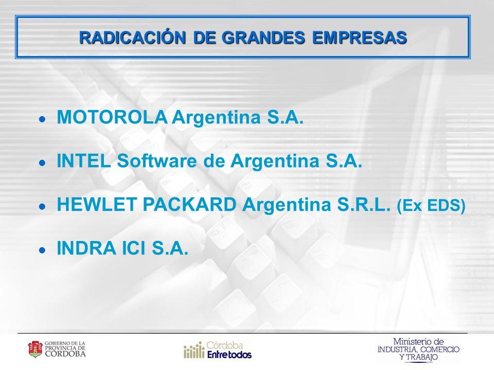 RADICACIÓN DE GRANDES EMPRESAS MOTOROLA Argentina S.A.