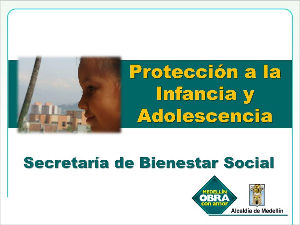 Protección a la Infancia y Adolescencia Secretaría de Bienestar Social