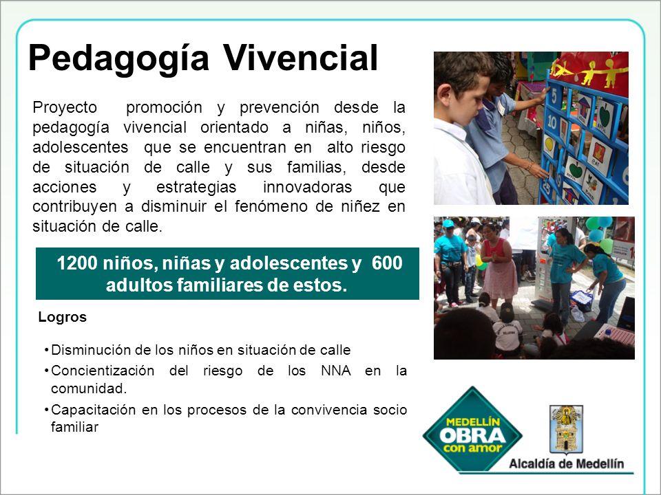 Pedagogía Vivencial Proyecto promoción y prevención desde la pedagogía vivencial orientado a niñas, niños, adolescentes que se encuentran en alto ries