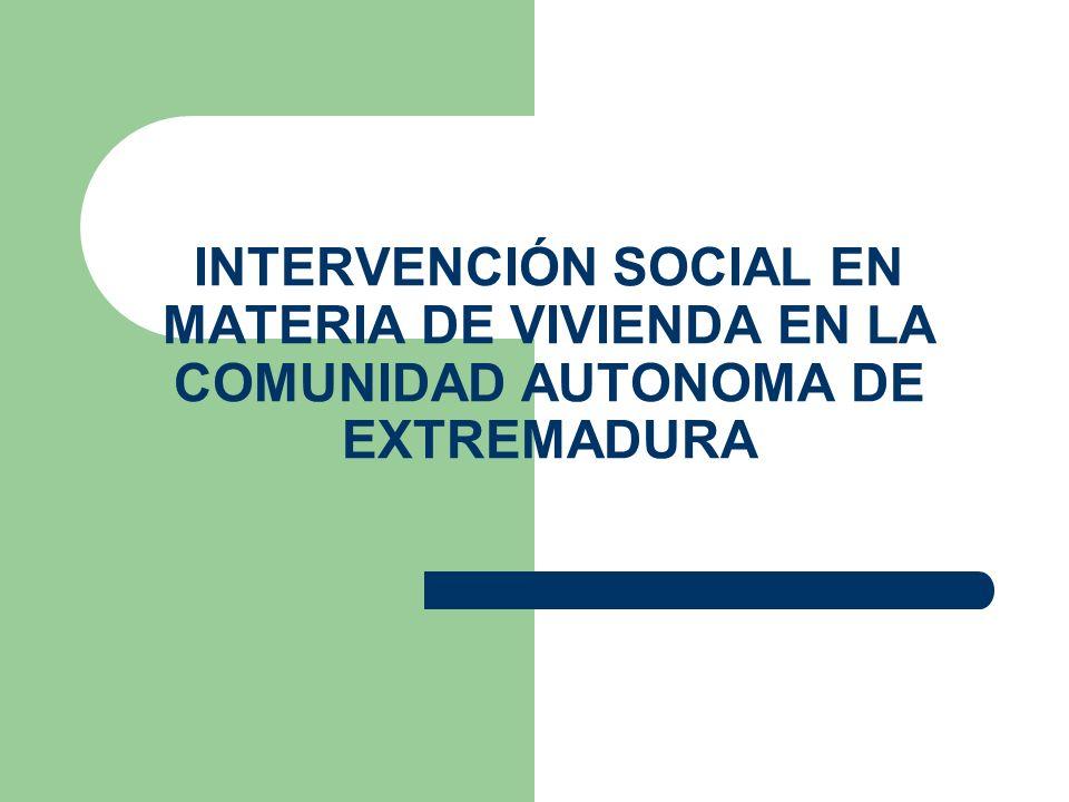 ANEXOS Decreto 115/2006, de 27 de junio, por el que se regula el procedimiento de adjudicación de viviendas de promoción pública de la Comunidad Autónoma de Extremadura Solicitudes de actuaciones en materia de VPP.