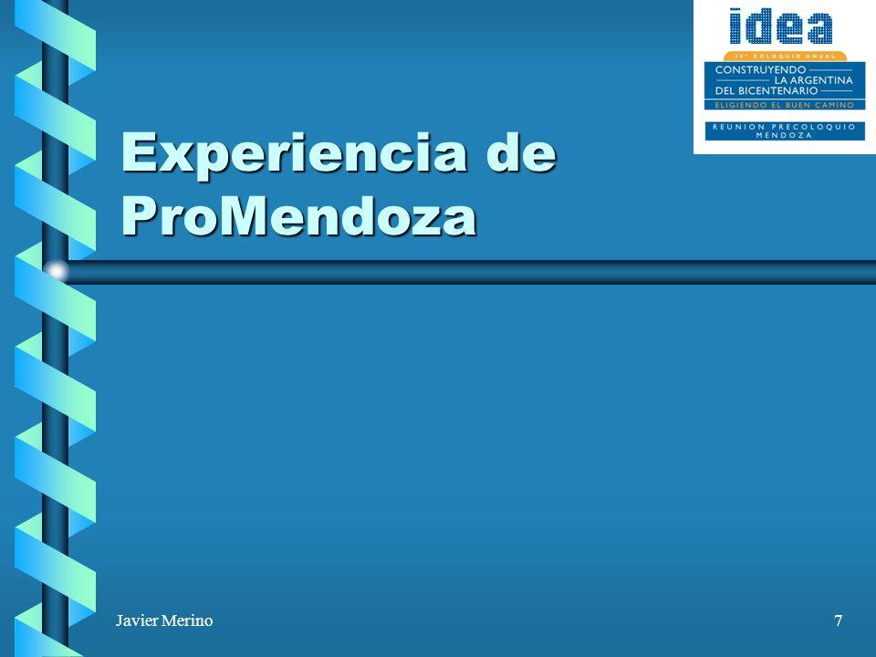 Javier Merino28 Razones fundamentales de la promoción El MUNDO SE GLOBALIZÓ por el avance de las comunicaciones, las ventajas empresariales derivadas de la caída de barreras y la movilidad de capitales.El MUNDO SE GLOBALIZÓ por el avance de las comunicaciones, las ventajas empresariales derivadas de la caída de barreras y la movilidad de capitales.