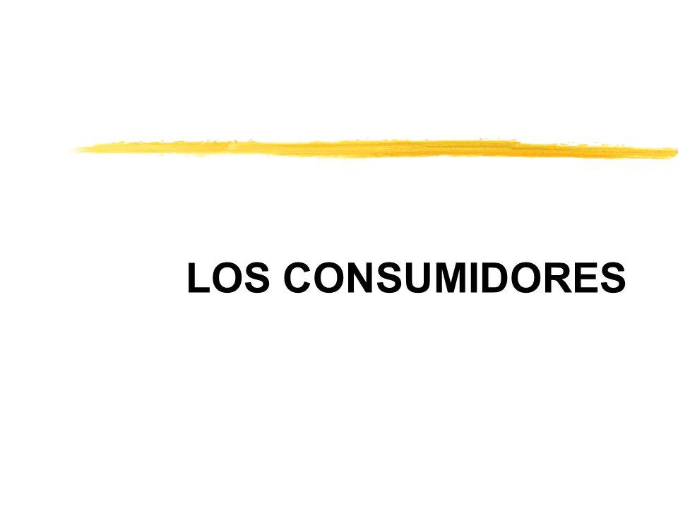LOS CONSUMIDORES