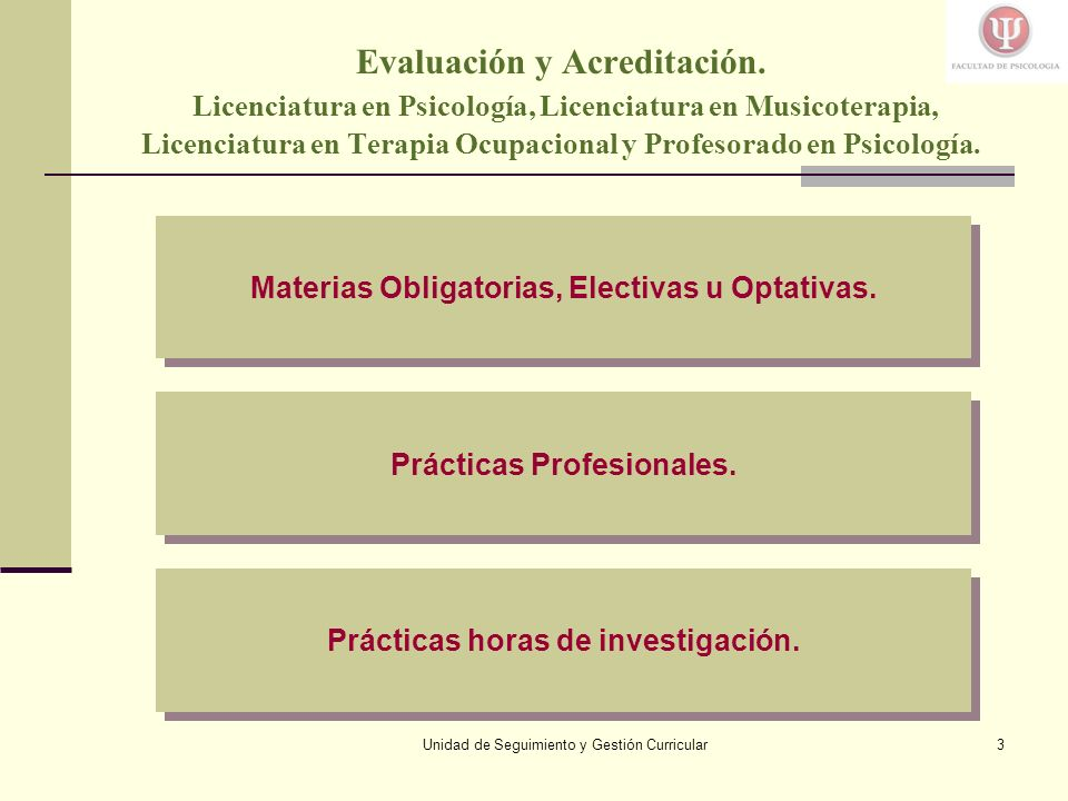 Unidad de Seguimiento y Gestión Curricular14