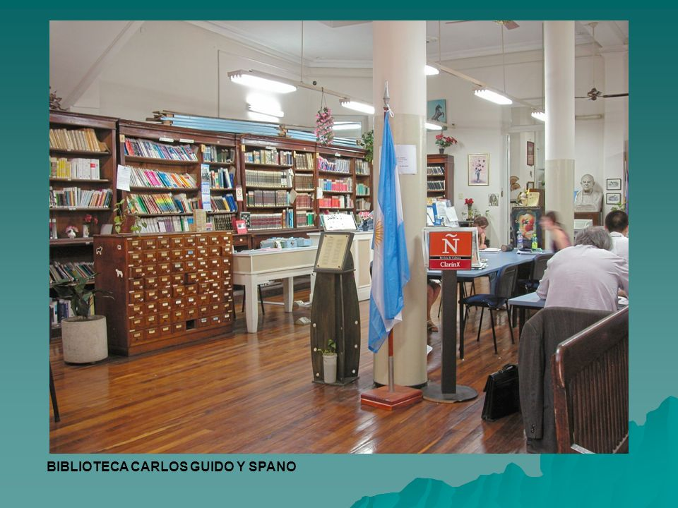 BIBLIOTECA CARLOS GUIDO Y SPANO