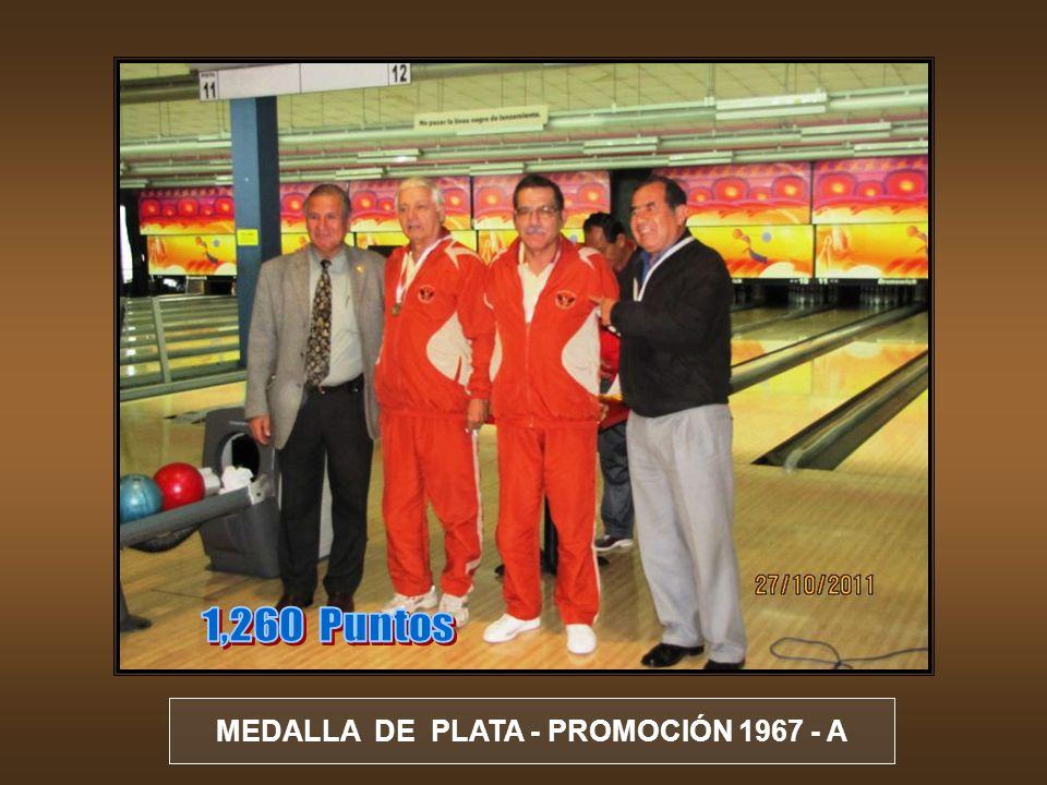 MEDALLA DE BRONCE - PROMOCIÓN 1955