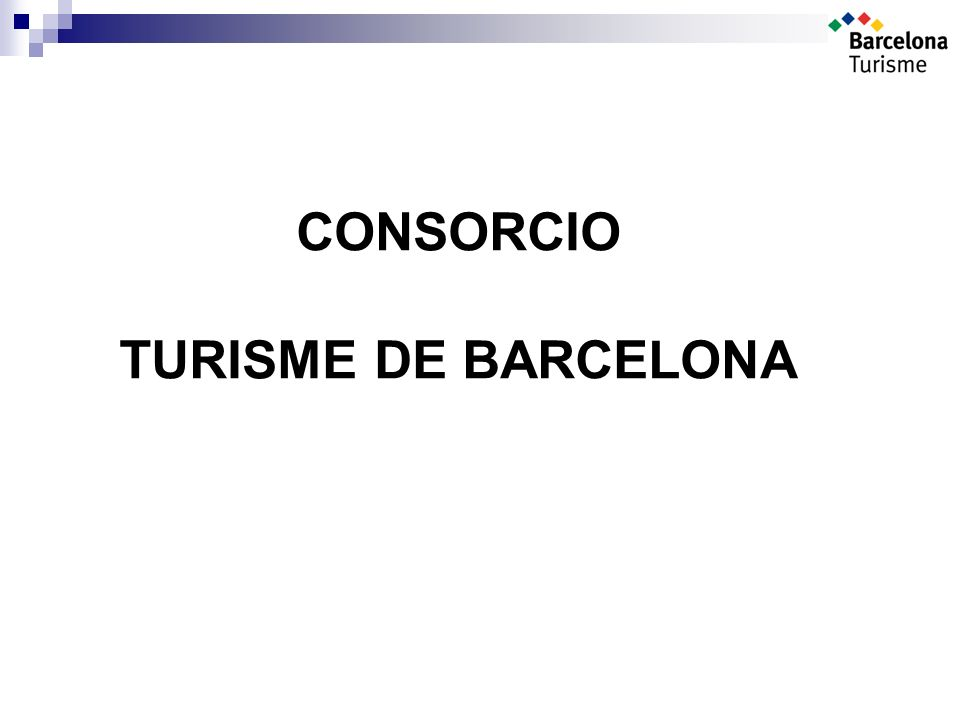 CONSORCIO TURISME DE BARCELONA