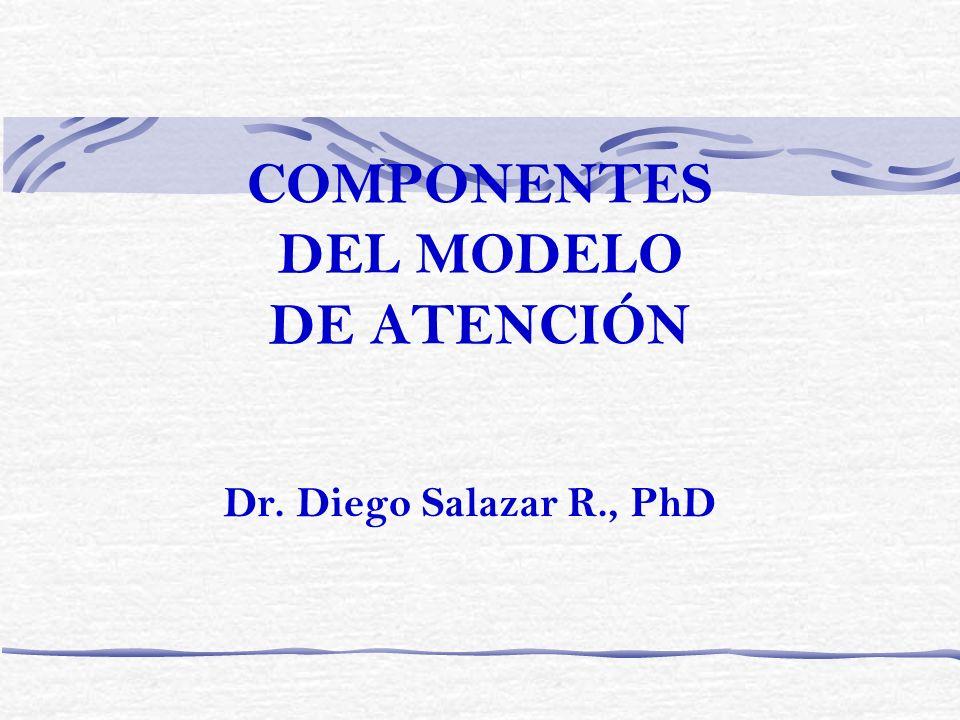 COMPONENTES DEL MODELO DE ATENCIÓN Dr. Diego Salazar R., PhD