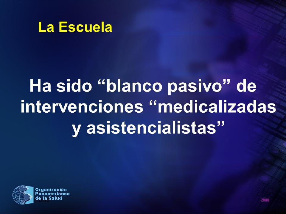 Red Latinoamericana de Escuelas Promotoras de Salud (RLEPS) Iniciativa de OPS/OMS 1ª.