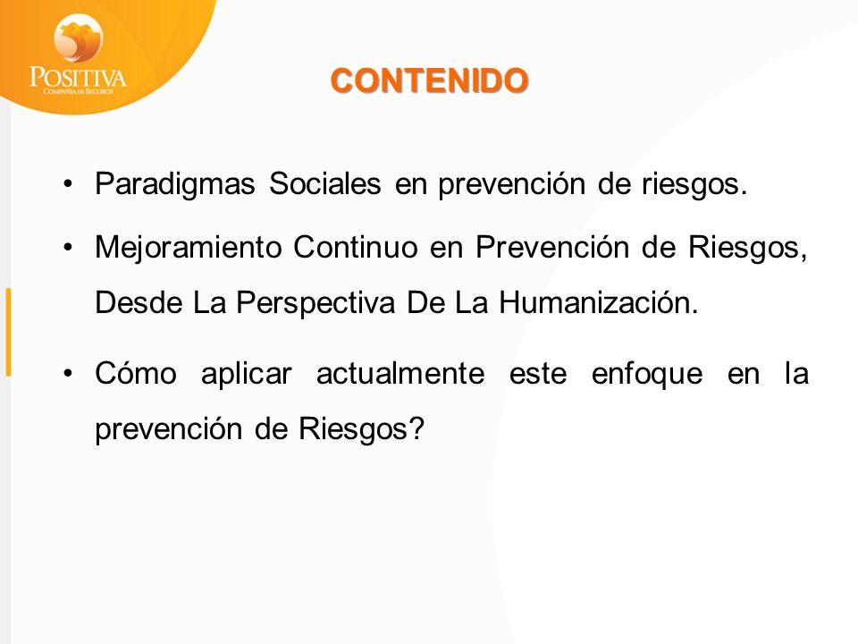 Funcionamientos R Mejoramiento Continuo en Prevención de Riesgos, Desde La Perspectiva De La Humanización