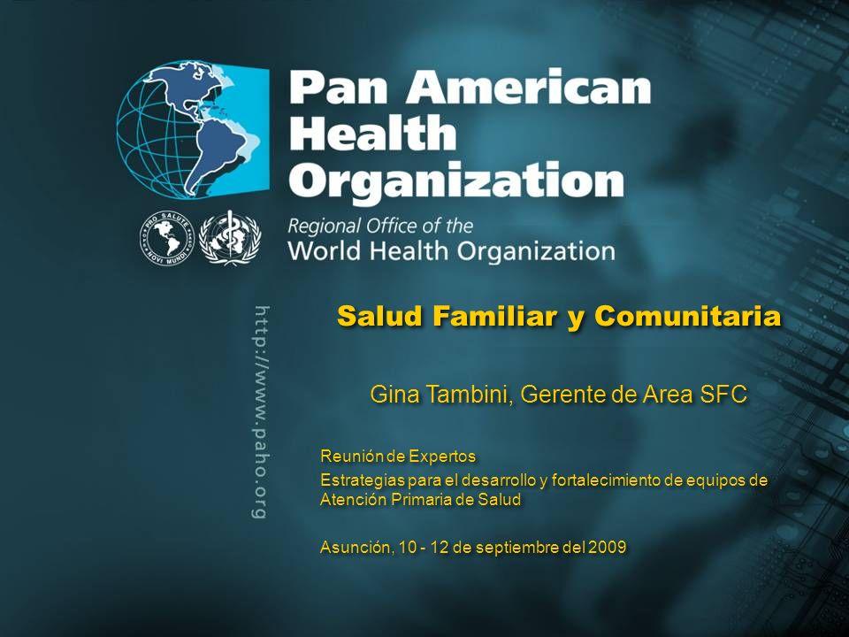 Pan American Health Organization QUE HACER ….