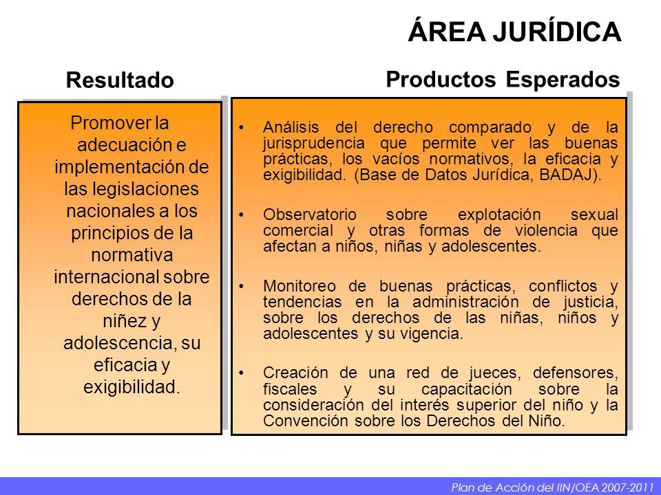Análisis del derecho comparado y de la jurisprudencia que permite ver las buenas prácticas, los vacíos normativos, la eficacia y exigibilidad.