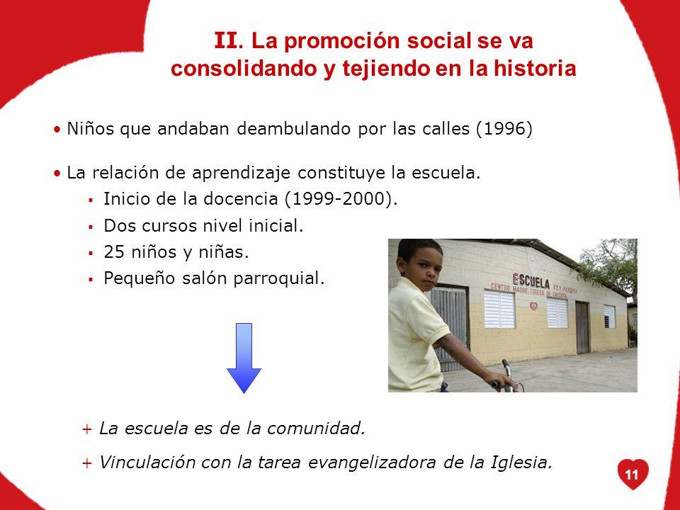 11 Niños que andaban deambulando por las calles (1996) La relación de aprendizaje constituye la escuela.